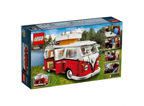 Xe bus lắp ráp LEGO 10220
